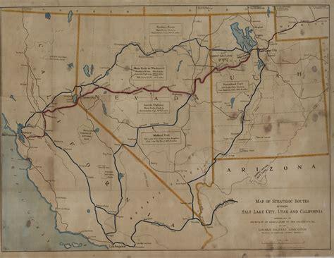 road map of utah and nevada map of california nevada and utah