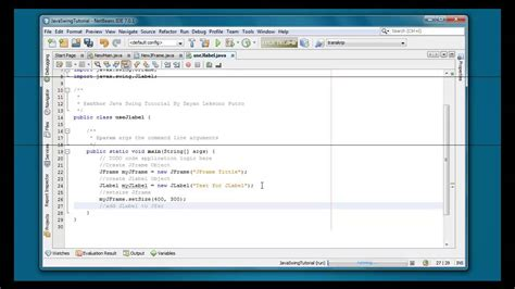 jlabel in java swing exle how to use jlabel in java swing programing for beginners