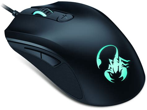 Standart Mouse Gaming scorpion gaming laser mouse 8200 dpi 31040064101 the keyboard company