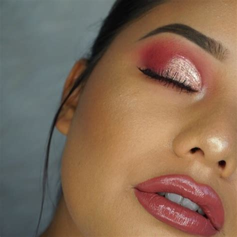 Cut Pink pink cut crease makeup tutorial makeup