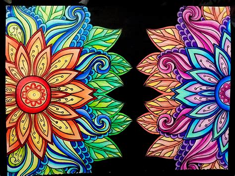 mandala coloring book tips from kaleidoscope wonders color for everyone colored