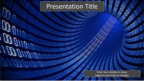 binary powerpoint template binary code java ppt 58781 free binary code java ppt by
