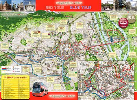 sightseeing map maps update 35002476 vienna tourist map map of vienna