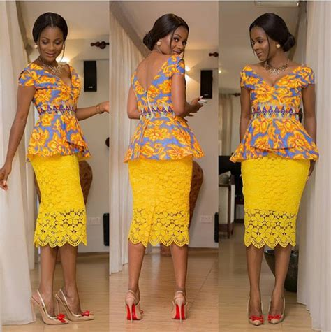 ankara peplum tops styles peplum ankara skirt and blouse styles to rock fashion
