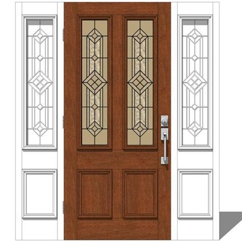 Jeld Wen Exterior Door by Jeld Wen Exterior Door Set 1 3d Model Formfonts 3d