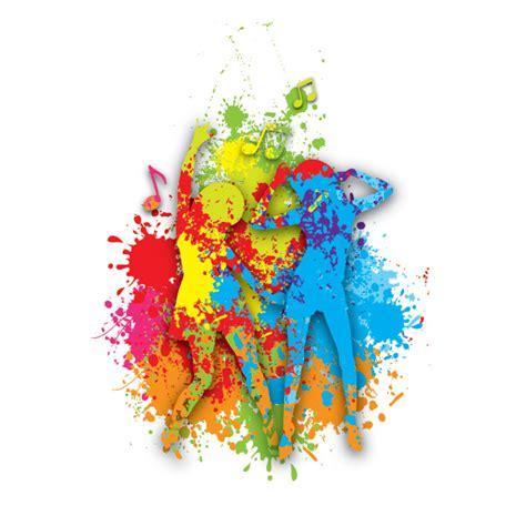 colorful graphic wallpaper colorful dance vector graphic
