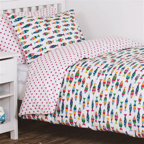 Rainbow Crib Bedding Frugi Rainbow Fish Cot Bed Set