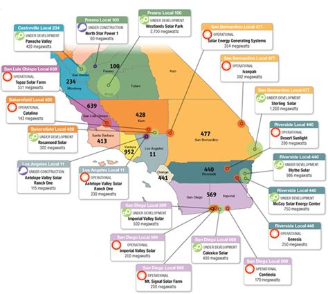 ibew california jurisdiction map the electrical worker