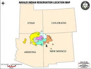 maps navajo land department