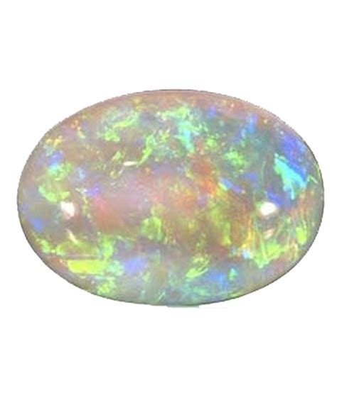 ruhani associates white faceted opal 10 31 carat