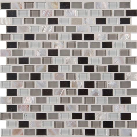 mosaic tile ms international flooring 12 in x 12 in ms international keshi blend 12 in x 12 in x 8 mm glass