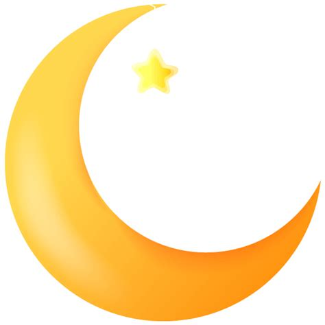 moon clipart crescent moon crescent moon with a faces