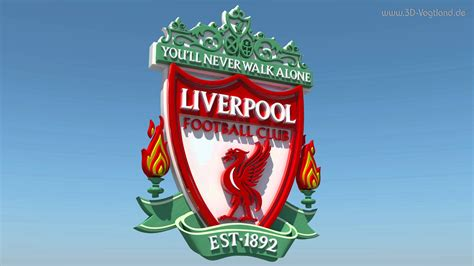3d Liverpool 3d logo fc liverpool the reds animation 4k