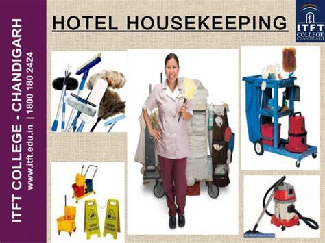 itft hotel housekeeping