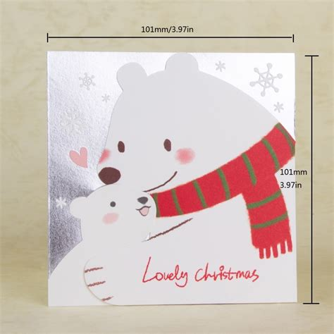 buy merry christmas card handmade christmas tree decorating gift cards mini