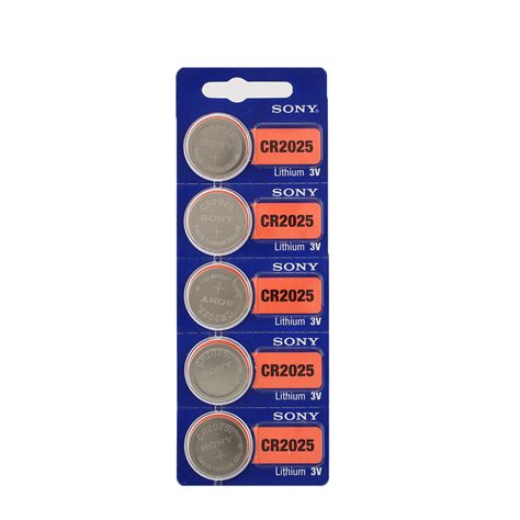 Battery Sony Cr2032 5pcs for sony cr2032 3v coin batteries button cell battery