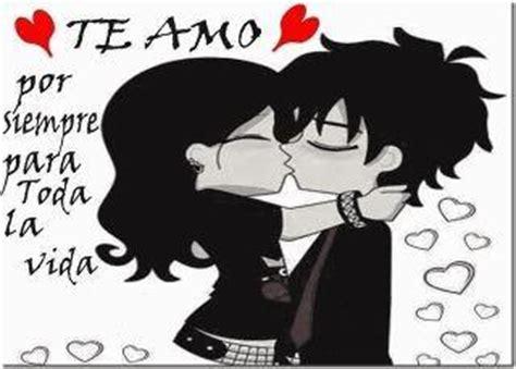 imagenes emo besandose emos enamorados te amo por siempre para toda la vida