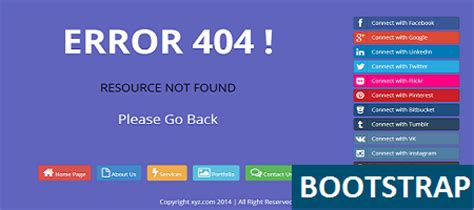 bootstrap themes free animated bootstrap animated error free html templat