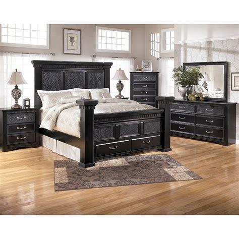 cavallino storage bedroom set  signature design