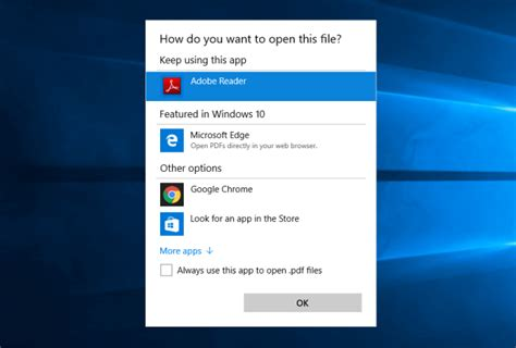How to Reset Windows 10 File Associations or Change File Type File Type Associations In Windows 10