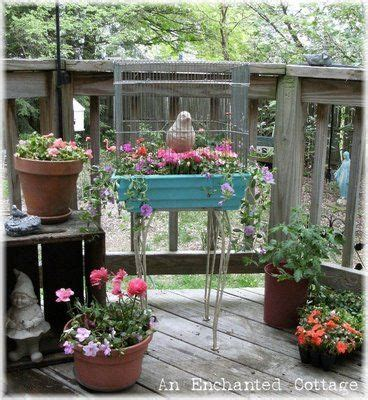 Bird Table With Planter Base by Bird Cage Planter For The Home