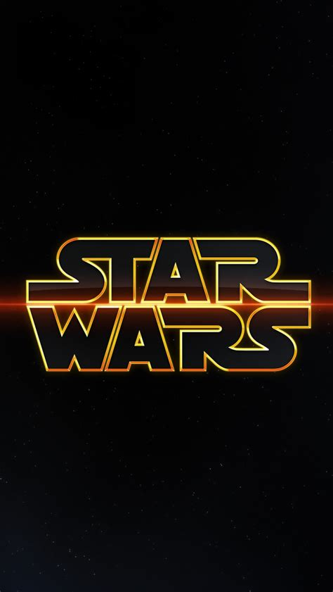 star wars logo  iphone wallpapers