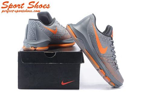 kevin durant mens basketball shoes kevin durant 8 viii store gray orange s
