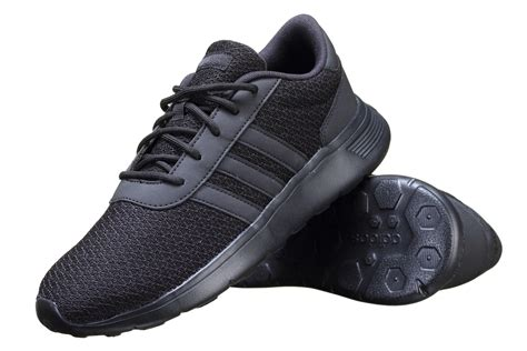 adidas lite racer black adidas b74374 men s neo lite racer shoes black ebay