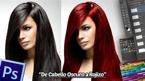 tutorial photoshop retoque fotografico profesional retoque fotogr 225 fico cambio de color cabello oscuro a
