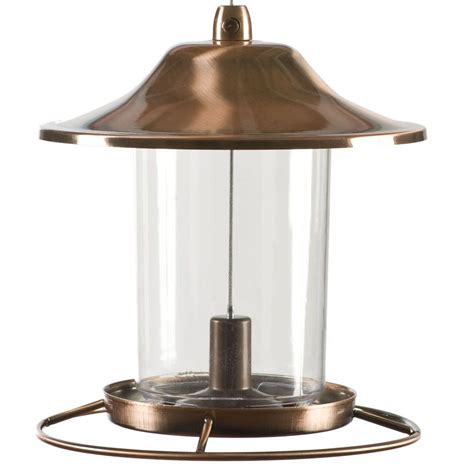 pet copper panorama bird feeder 312c the home depot