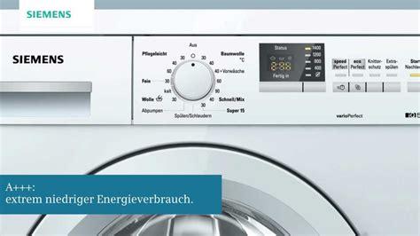 siemens waschmaschine iq siemens iq 500 waschmaschine mit waterperfect plus