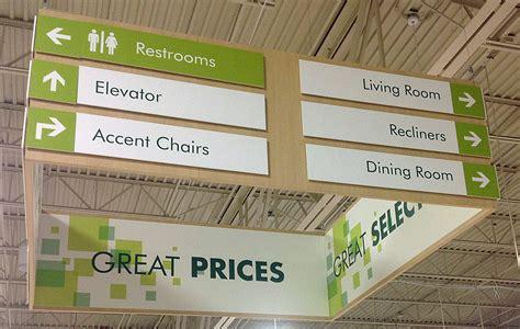 Nebraska Furniture Mart Address by Wayfinding Signage D Fab