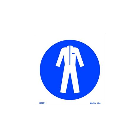 Imo Sign Jacket wear protective clothing 15x15cm white vin imo sign 195651wv imostickers