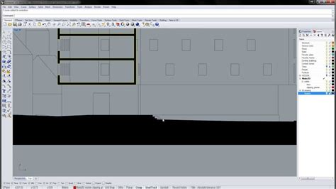 layout rhino rhino preparing 2d drawings for layout youtube
