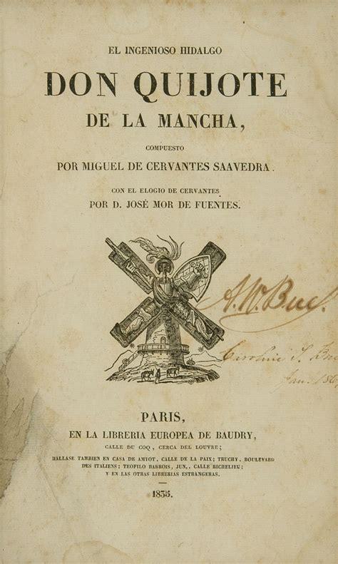 libro don quijote las aventuras de don quijote de la mancha autor miguel de cervantes edici 243 n de 1900 en