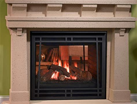 see through gas fireplace evenings delight