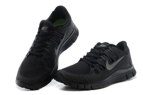 black nike shoes for yc 242319 mens nike free 5 0 running shoes all black for