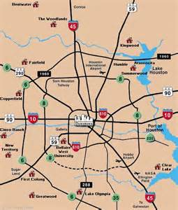 image gallery houston area map