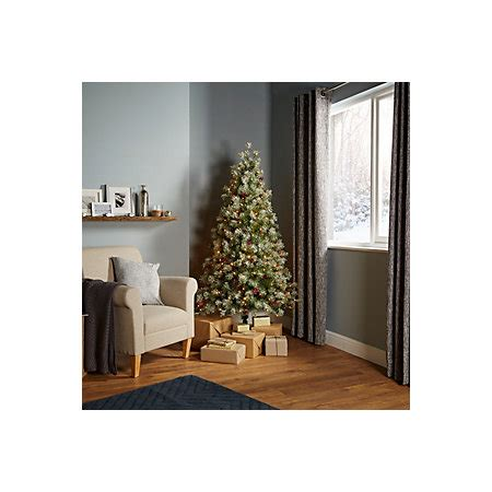b q diy store pre lit trees 6ft fairview pre lit led tree departments diy at b q