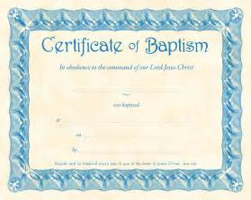 certificate of baptism template certificate of baptism certificate dedication