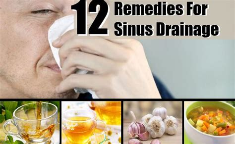 home remedies for sinus drainage treatments