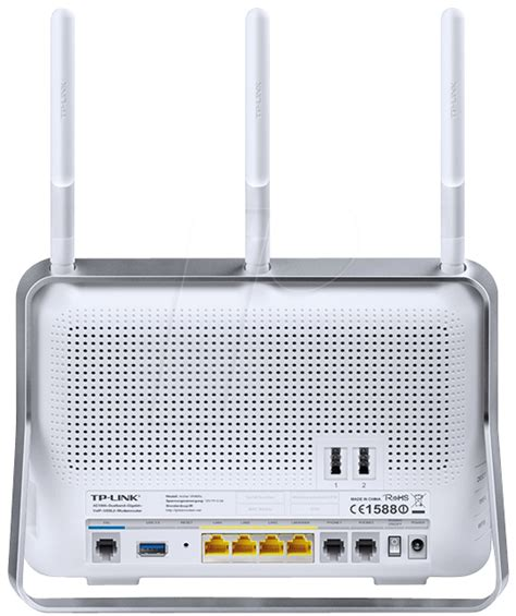 Router Voip tplink arcvr900v ac1900 wireless dual band gigabit router voip vdsl2 at reichelt elektronik