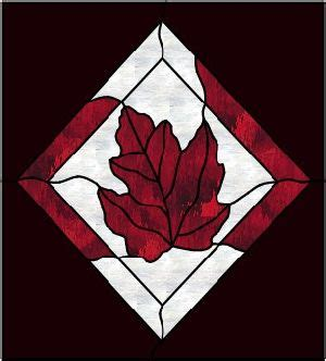 maple leaf pattern glass 17 best images about stained glass patterns on pinterest
