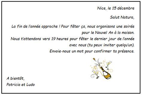 Exemple De Lettre D Invitation à Un évènement No 235 L Quelques Activit 233 S