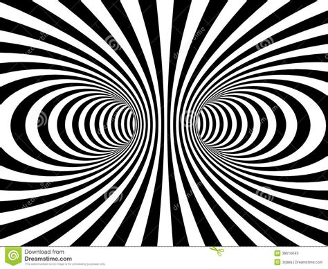 black white striped monochrome vortex a stock photos image 38516043
