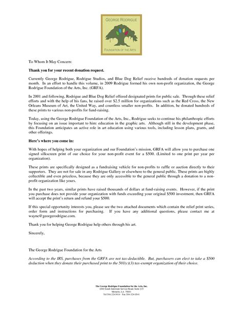 Fundraising Letters For Museums Non Profit Donation Request Letter Template 2 Chainimage