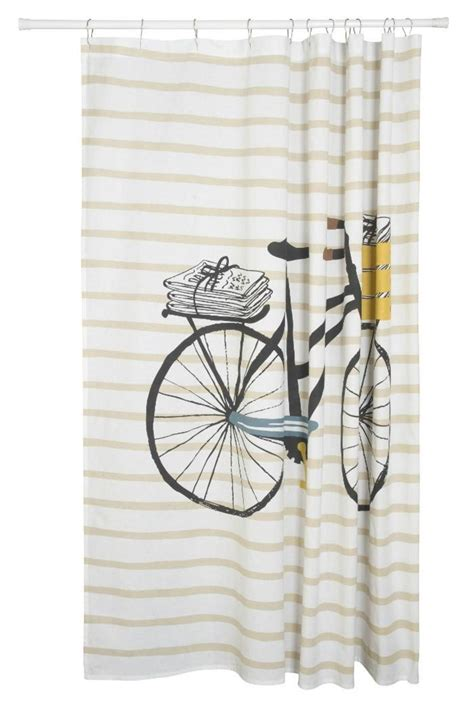 bicycle shower curtain danica studio bicycle shower curtain from tennessee by the