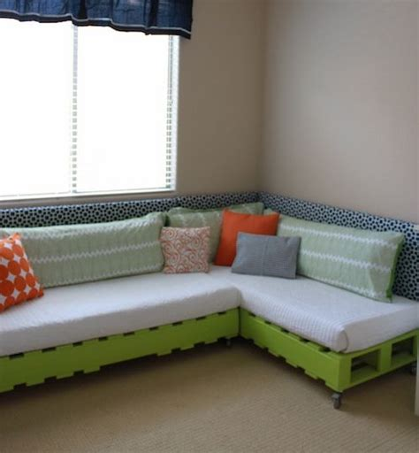 diy ottoman bed diy kid s pallet bed pallet sectional ottomans and mattress