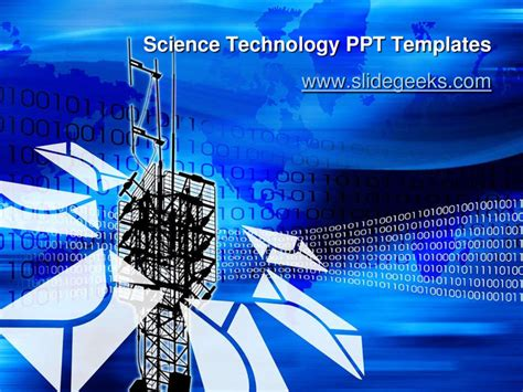 powerpoint 2010 themes technology science technology ppt templates