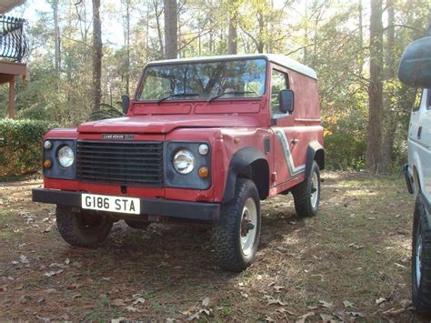 land rover defender diesel 1989 land rover defender 90 turbo diesel low
